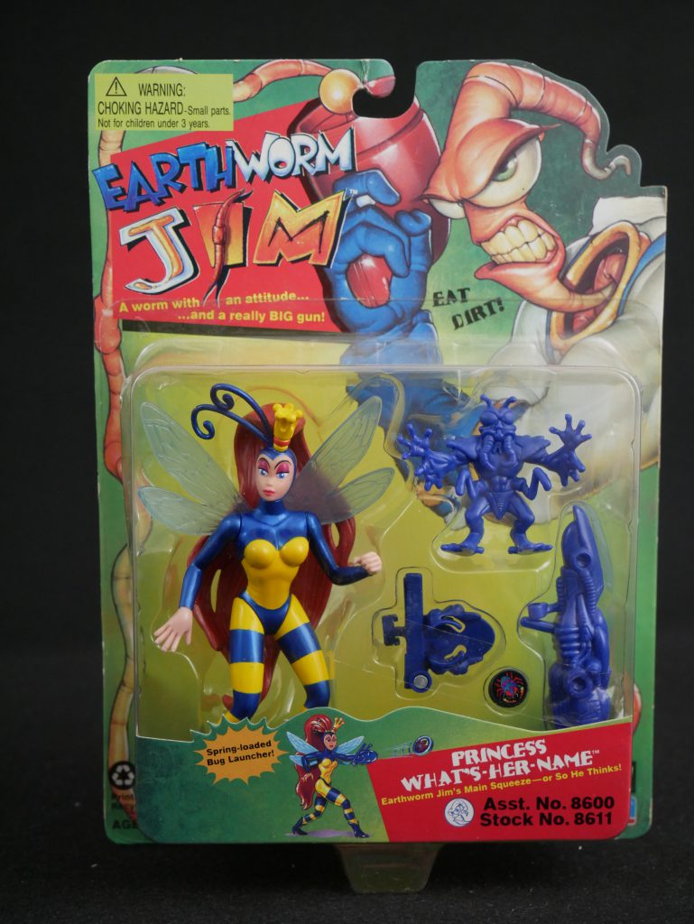 Playmates Toys Earthworm Jim Figures Princess What's-Her-Name