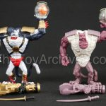 Earthworm Jim Figures .- Bob and #4 Hardcopy and Test Shot Prototypes