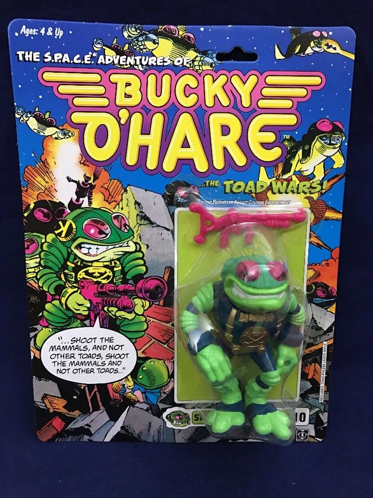 Storm Toad Trooper Bucky O'Hare Action Figure Hasbro