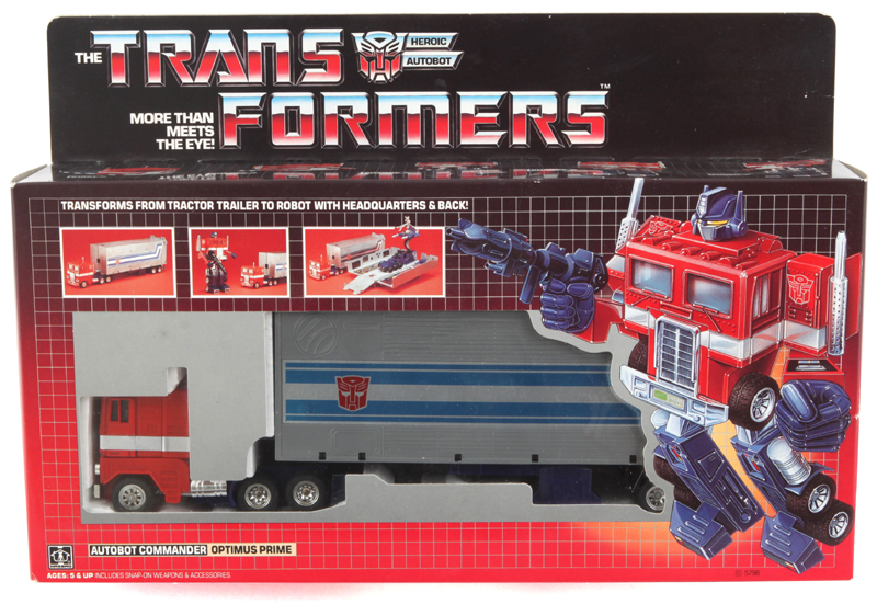 Hasbro Transformers G1 Optimus Prime