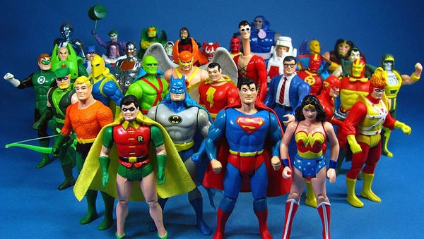 Toys from the 80s - Kenner Super Powers Action Figures