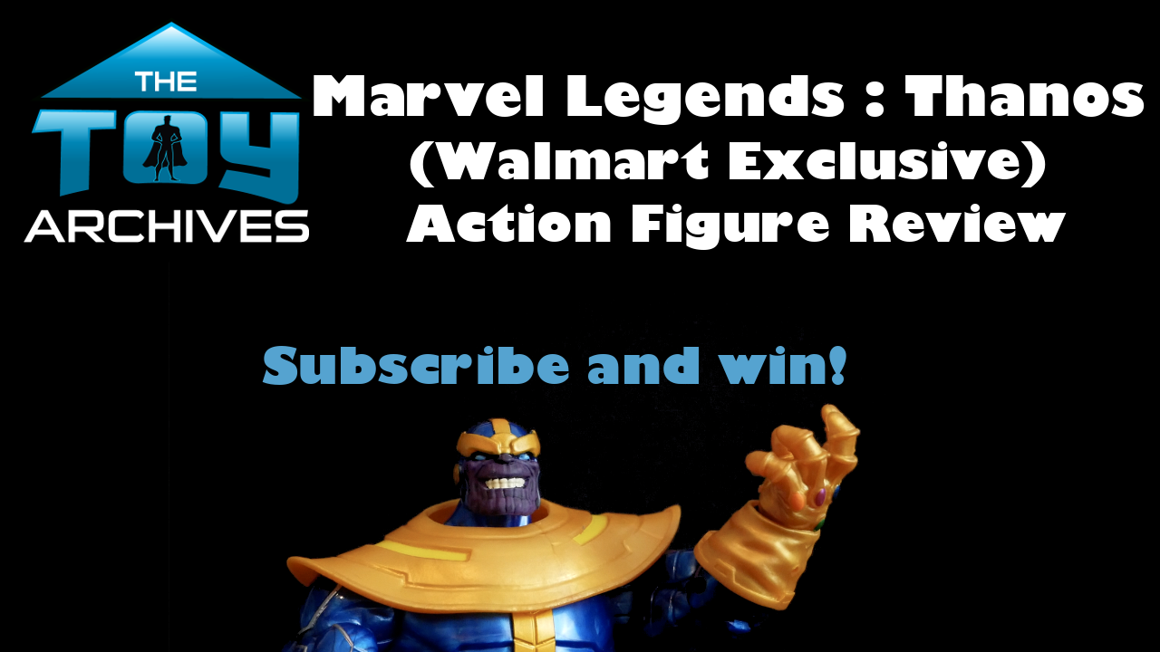 Marvel Legends Thanos (Avengers: Infinity War) Walmart Exclusive Action Figure Toy Review